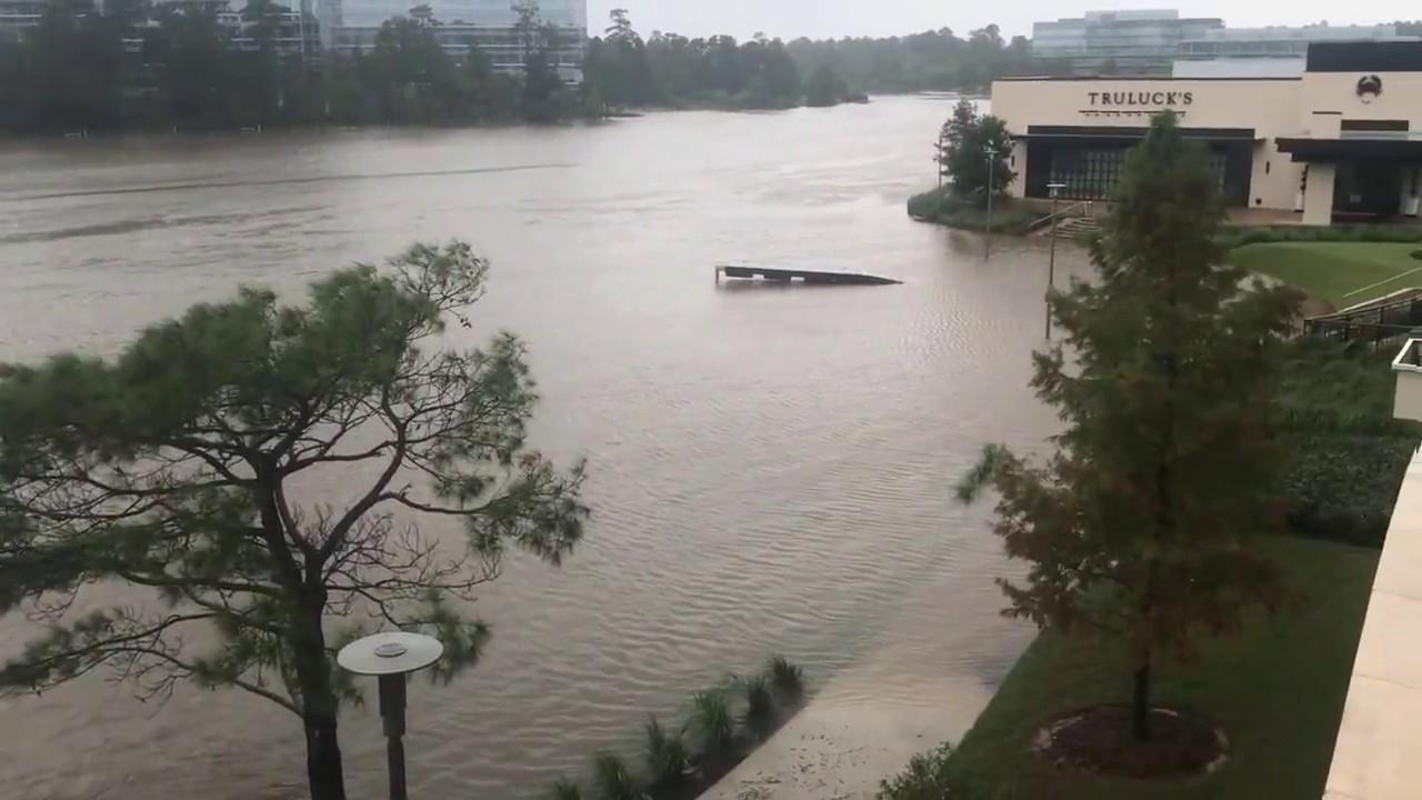 The Woodlands Texas Flooding >> Hurricane Harvey Flooding In The Woodlands Texas 2017 The